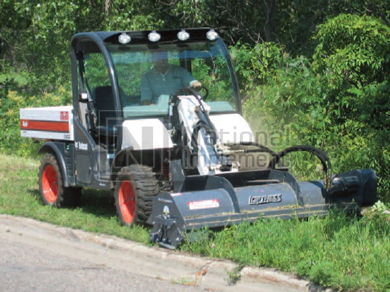 90 Quot Loftness Skid Steer Hydraulic Flail Mower Model 90hm