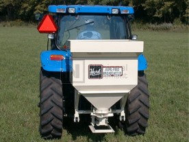 Kasco / Herd 3-Point Tractor Salt & Wet Sand Broadcast Spreader Model 1200S