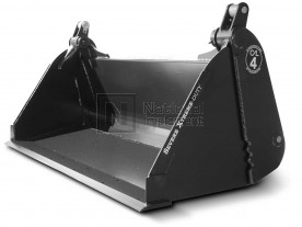 """76"""" Severe Extreme Duty 4-in-1 Low Profile Extended Bottom Bucket Model 1MPSXDEB76"""