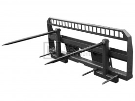 CID Double Adjustable Bale Spear Model DHBABS