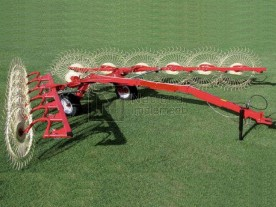 "21'-8"" Farm-Maxx High Capacity, High Clearance, 10 Wheel Rake Model HCWR-10"