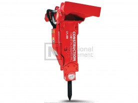 Construction Attachments Hydraulic Breaker for 7,000 - 15,000 lbs. Host Machines Model 1BR1000B-SS