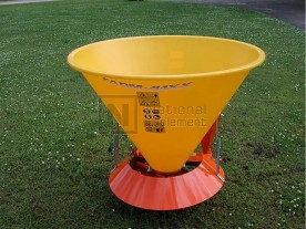 Farm-Maxx 3-point Tractor Poly Hopper Spin Spreader Model SPL-400