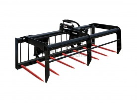 "72"" Erskine Skid Steer Utility Manure Fork Grapple Model 900619"