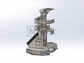 Baumalight Feller Buncher For Excavator