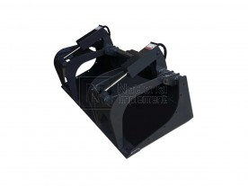 "78"" Heavy Duty Grapple Bucket with Teeth (Model: HDGB78WT)"