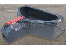 Haugen 1/2 Yard Skid Steer Concrete Placing Bucket Model HCB / HCB-H