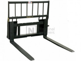 "72"" 6,000 lbs. Heavy Lift Skid Steer Pallet Forks Model MHPF72-10"