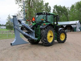 "48"" Baumalight 3-Point Hitch Drainage Plow Model UPP748"
