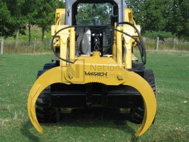 Martatch Heavy Duty 3-Point Tractor Log Grapple Model HDLG3PT (skid steer version pictured)