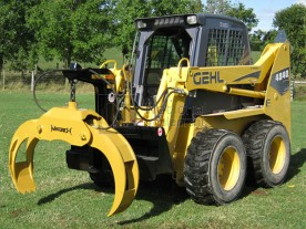 Martatch Heavy Duty Skid Steer Log Grapple Model HDLG