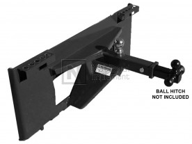 Haugen Skid Steer Receiver Hitch Adapter Model MBA-SKD / HBA-SKD