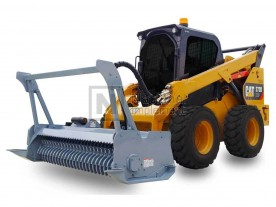 "72"" Baumalight Skid Steer Brush Mulcher Model MS572"