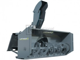 "72"" Loftness Skid Steer Hydraulic Snow Blower Model 721ES / 721EM"