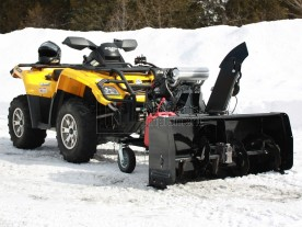 "54"" Bercomac Versatile Plus ATV / UTV Snow Blower Model 700582-3-20H-EPA, Honda GX630 Engine"