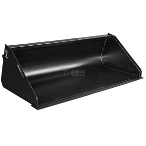 """78"""" Construction Attachments General Purpose Snow and Light Material Bucket Model 1GPHCLM78"""