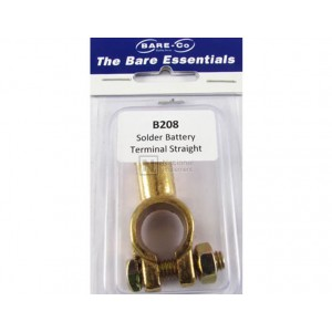 Bare-Co Solder Battery Terminal Straight Part B208