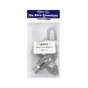 Bare-Co Drop Lock Weld In - Quantity 2 Part B4553 - FREE Shipping!