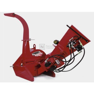 """Wallenstein 4"""" 3-Point Tractor PTO Wood Chipper with Hydraulic Feed Model BX42R"""