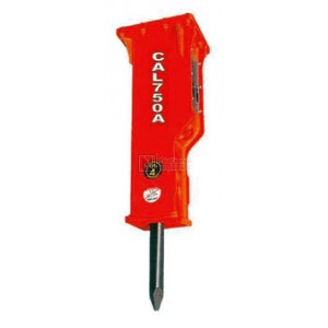 Construction Attachments Hydraulic Breaker for 1,400 - 3,000 lbs. Host Machines Model 1BR225C‐SS