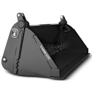 """84"""" Construction Attachments Severe Extreme Duty High Capacity 4-in-1 Bucket Model 1MPSXDHC84"""