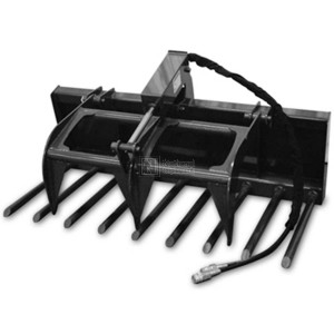 """60"""" Compact Tractor Manure Fork Grapple (Model: CTMFG60)"""